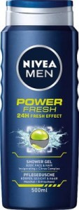 Nivea Men Żel pod prysznic Power Fresh 500 ml