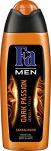 Fa Men Żel pod prysznic Dark Passion Sandalwood 250 ml