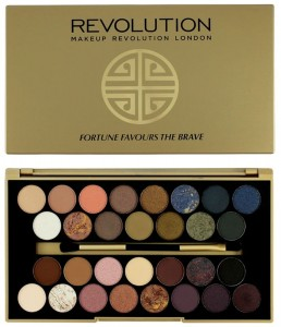 Makeup Revolution paleta 30 cieni Fortune Favours the Brave 16g