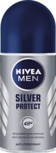 Nivea Men Antyperspirant roll on Silver Protect 50 ml