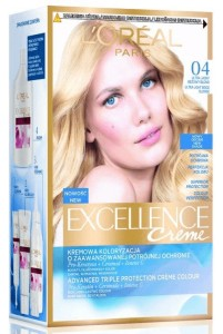 Loreal Excellence Creme Farba 04 Ultra Jasny Beżowy Blond