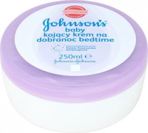 Johnsons baby kojący krem na dobranoc bedtime 250 ml
