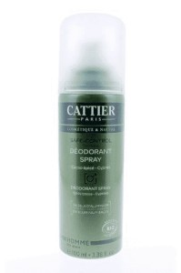 Cattier Homme Deodorant Spray Safe-Control 100ml