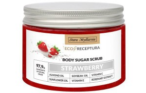 STARA MYDLARNIA Strawberry peeling cukrowy 300ml