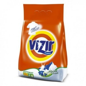 Vizir Alpine Fresh Proszek do prania 1,5 kg, 20 prań