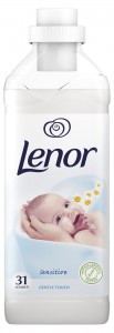 Lenor Sensitive Płyn do płukania tkanin 930ml, 31 prań