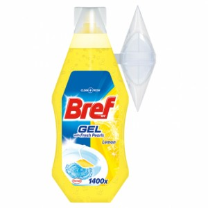 Bref WC Fresh Pearls Fresh Lemon żel do toalet 360 ml