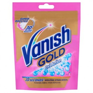 VANISH Gold Oxi Action Odplamiacz do tkanin w proszku 300g