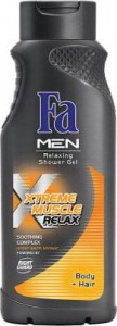 Fa żel pod prysznic men Xtreme Muscle Relax body & hair 400 ML