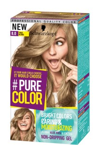 Schwarzkopf Pure Color Farba do włosów w żelu 8.0 True Blond