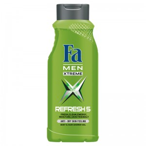 Fa Men Xtreme Refresh 5 Żel pod prysznic 400 ml
