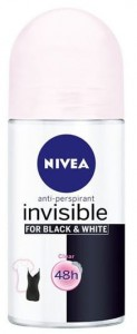 NIVEA Black & White Invisible Clear Antyperspirant w kulce 50 ml