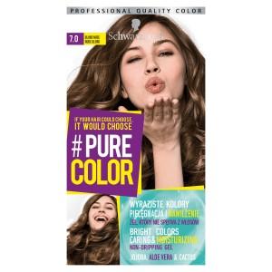 Schwarzkopf Pure Color Farba do włosów w żelu 7.0 Nude Blond