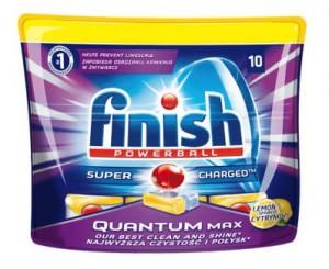 Finish Tabletki do zmywarki Quantum Max Lemon 155 g 10szt