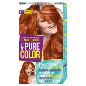 Schwarzkopf Pure Color Farba do włosów w żelu 7.7 Bright Cinnamon