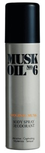 Gosh Musk Oil No 6 Dezodorant Spray 150ml