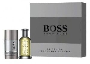 BOSS BOTTLED Woda toaletowa 50ML ZESTAW ( EDT 50ml + Deo Stick 75 ml)