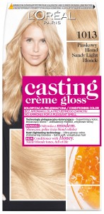 L'OREAL Casting Farba 1013 JASNY PIASKOWY BLOND