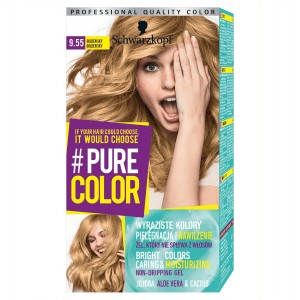 Schwarzkopf Pure Color Farba do włosów w żelu 9.55 Golden Sky